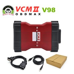 V98 VCM II IDS Diagnosis tool green single Board For Ford Mazda VCM 2 VCM2 OBD2 Scanner Free shipping 2016 Latest version V98 VCM II from vcm tools suppliers