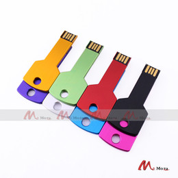 128mb usb memory stick UK - Free Customized Logo 10PCS 128MB 256MB 512MB 1G 2G 4GB 8GB 16GB USB Drive Memory Flash Metal Key Pendrives Sticks Genuine True Storage