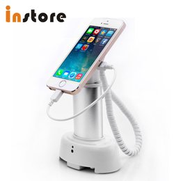 Mobile phone exhibition online shopping - alarm Security and Charging Mobile Phone Display Stand for Retail Shops or Exhibitions Holder