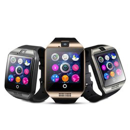 $enCountryForm.capitalKeyWord UK - Q18 Smart Watch Bluetooth Smart watches For Android Phone with Camera Q18 Support TF Card NFC Connection with Retail Package