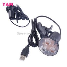 Usb port laptop light online shopping - Super Bright LED Port Clip On Spot USB Light Lamp For Laptop PC Notebook Black G205M Best Quality