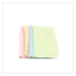 Wholesale New Cleaning Cloth Eyeglasses Cleaner Polish Microfiber Eyewear Glasses Phone Sunglasses Lens Tablet Camera Screen Cleaning Cloths