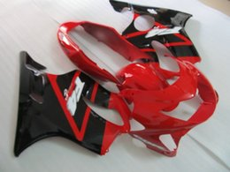 Honda Motorcycle Aftermarket NZ - Aftermarket fairing kit 100% fit for Honda CBR600 F4 1999 2000 red black motorcycle fairings body parts CBR600F4 99 00