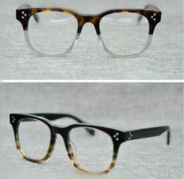 4a1cf68d90 Discount oliver peoples eyeglasses - Men Optical Glasses Frame Oliver  Peoples OV5236 Brand Designer Square Frame
