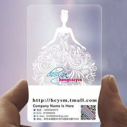 Custom Transparent Business Cards Online Custom Transparent