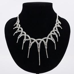Gargantilla en capas de diamantes de imitación gargantilla maxi collar llamativo 2017 grande brillante gargantilla joyería moda Trendy Chocker para mujeres envío gratis