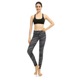 Pantalon Noir Point Blanc Pas Cher-Yoga Pantalon Femmes Leggings Course de Sport Collants de Jogging Yoga Fitness Workout Pantalon Noir Blanc Imprimé Dot snowflake Pantalon GL-012