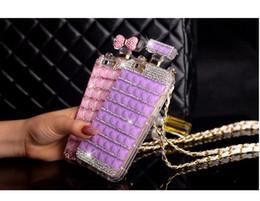 $enCountryForm.capitalKeyWord Canada - For Samsung galaxy s5 s6 s7 s8 edge plus Luxury Diamond Rhinestones Perfume Bottle Mirror chain case cove