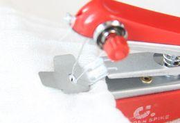 Diamond Paintings Tools NZ - Manual machines household sealing machine handheld portable mini sewing machine mini compact sewing machine