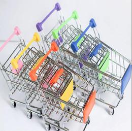 $enCountryForm.capitalKeyWord Canada - Fashion Mini Supermarket Hand Trolleys Mini Shopping Cart Desktop Decoration Storage Phone Holder Baby Toy