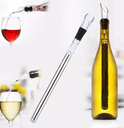 cool wine gifts fast dhl shipping stainless steel wine cooling stick corkcicle white red wine
