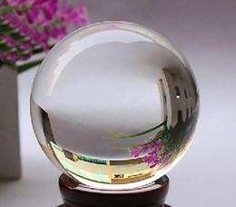 Magic Crystal Balls Canada - 100mm+Stand Asian Rare Natural Quartz Clear Magic Crystal Healing Ball Sphere