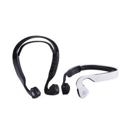 Wholesale Black S Hooks Australia - Newest S WindShear Bone Conduction Bluetooth Stereo Headset Sports Wireless Headphones with mic with Retail box Free Shipping