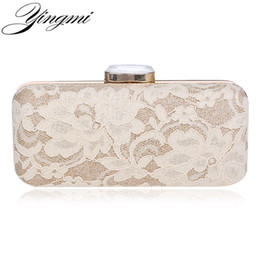 $enCountryForm.capitalKeyWord Canada - New arrival lace embroidery acrylic evening women bag small purse wallets clutch evening bag for wedding bridal tote