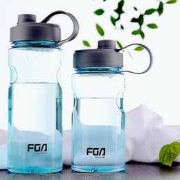 $enCountryForm.capitalKeyWord Australia - Outdoor Water Bottle Fitness Sports Portable Plastic My Botle Shaker High Capacity Space Cup Easy To Carry About 15bj J R