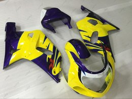 $enCountryForm.capitalKeyWord Australia - Body Kits GSXR750 2003 Full Body Kits for Suzuki GSXR600 2002 Yellow Blue Fairing Kits GSXR 600 750 1000 02 03 2000 - 2003 K1 K2