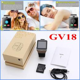 $enCountryForm.capitalKeyWord Australia - GV18 NFC Bluetooth Smart Watch Wearable Wristwatch Call Reminder Remote Camera Support Sim TF Card For iPhone Samsung Smartphone