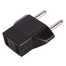 US USA À EU Euro AC Voyage Socket Adaptateur Adaptateur Adaptateur Convertisseur 2 Pin Plug en Solde