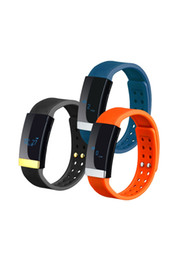 Chinese  Wholesale- SOWMOW MS01 Heart Rate Monitor Pulse Calorie burned Bracelet Smart Wristband water proof IP65 for IOS Android Smartband manufacturers