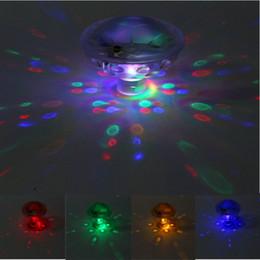 Wholesale  LED Colorful Bathtub Light 5 Lighting Modes Underwater Glow Show  Lamp Pond Pool Swimming LED Light Disco SPA Light Waterproof Underwater  Bathtub ...