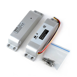 $enCountryForm.capitalKeyWord Australia - NC Electric Mortise DC 12V Fail Safe Electric Drop Bolt Lock for Door Access Control Security Lock Doors System
