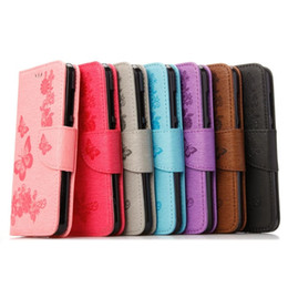 Huawei p8 lite poucHes online shopping - Butterfly Flower Wallet Leather Case Pouch For Samsung Galaxy J5 A3 A5 A7 J3 Huawei P10 PLUS P8 Lite Mate Card Stand Skin Cover