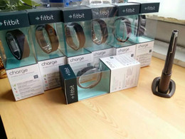 Bluetooth Fitbit Smart Watch NZ - New Smart Wristbands Fitbit charge bluetooth sleep meter Charge intelligent motion bracelet watches apple android pedometer