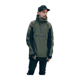 $enCountryForm.capitalKeyWord Canada - Color Block Waterproof Zipper Mens Jacket with Hoodie 2017 Spring Streetwear Jackets Men Green Khaki Black