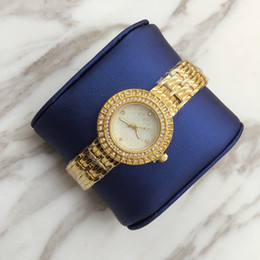 19 chains online shopping - A Luxury Fashion lady dress watch with full diamond women watch Hot sale rose gold wristwatch High Quality table Bracelet Chain
