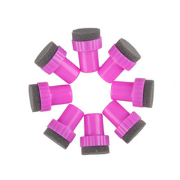 $enCountryForm.capitalKeyWord Canada - Nail Art Sponge Stamp Polish Template Transfer DIY Design Kit Gradual Change Stamper With 5pcs Sponge Replacement 0603009
