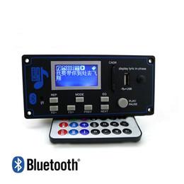 DecoDing boarD online shopping - V Lyric Show LCD Display Bluetooth MP3 Decoding Board FM Remote Folder Shift Switch LRC WMA WAV Decoder