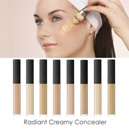 2017 New Arrival Radiant Creamy Concealer 6 cores Facial Weightless Foundation 100% Perfect All Day Concealers Frete grátis Drop Shipping