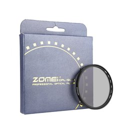 ZOMEi Ultra Slim AGC Optical Glass PRO CPL Circular Polarizing Polarizer Lens Filter - 40.5,49,52,58,62,72,77mm for SLR DSLR camera lens from multi coated lens filters manufacturers