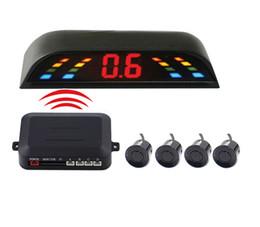 $enCountryForm.capitalKeyWord Canada - Wireless Led Display Car Parking Sensor 4 Sensors 433MHZ BiBi Sound PZ300-W PZ303-W Automatically Work Free DHL