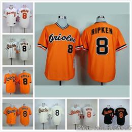 7d6d971ca ... baltimore orioles cal ripken jr 8 cal ripken jersey 1982 1989 1970 1954  orange white black