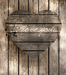 Discount photography background hearts - Vintage Wood Planks Photography Backdrops Vinyl Wooden Love Heart Romantic Wedding Valentine Photo Backgrounds Newborn B