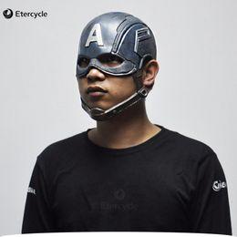 $enCountryForm.capitalKeyWord Canada - Captain America Masks Movie Cosplay Costume Props Halloween Superhero Latex Mask DC Collectible Toys