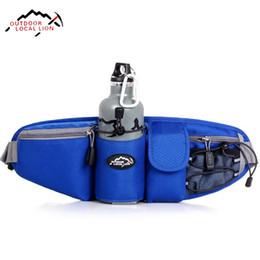 Discount gold lion bags - Wholesale- LOCAL LION Sports Bag Waist Bag Women Running Waist Pack For Men Waterproof Waist Pack Belt Travel Hiking Run