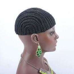 Glueless Wig Braids For Australia - 20pcs Braids Hair Wig Cap Crochet Wig Caps Easy Sew In Cornrows Cap Elastic Crochet Braids Glueless Wig Braided Caps For Making Wigs