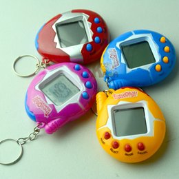 Wholesale 2017 Hot Sell Color Random Virtual Cyber Digital Pets Electronic Pets Retro Game Funny Toys Handheld Game Machine For Gift