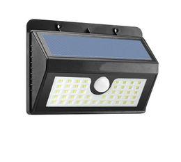 $enCountryForm.capitalKeyWord NZ - 45LED Motion Sensor Light Waterproof Solar Powered Lamp Wall Mount Lamp Night Light for Outdoor Garden Patio Path Gutter Fence