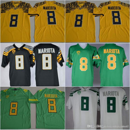 oregon duck 8 marcus mariota college football electric lightning limited jerseys 2016 2017 new