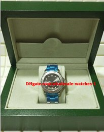 platinum mens gifts 2018 - Christmas gift swiss Luxury watches Original box certificate Automatic mens watch 116622 40mm Dark Rhodium Dial Steel Pl