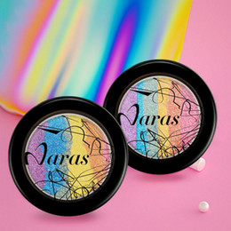Diy Powder Canada - Wholesale- Highlighter Powder Palette Face Shimmer Bronzer DIY Blusher Contour Eyeshadow Maquiagem By Naras