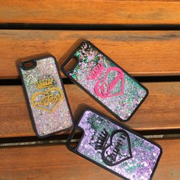 Chinese  For Huawei p8 p9 lite Luxury Cute Exclusive Customize Name King Queen Heart Quicksand liquid moving glitter magic case manufacturers