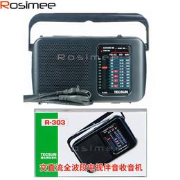 Sw Pack Australia - Wholesale-Retail-Wholesale High Quality TECSUN R-303 FM MW SW TV High Sensitivity Radio Digital Receiver Drop Shipping