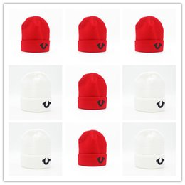 Discount wool for braids - Good Quality A Hat Letter Religion Casual Beanies for Men Women Fashion Knitted Winter Hat Solid Color Hip-hop Bonnet Un