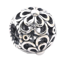 Discount pandora cherry charm 2018 cherry blossom pandora charm 925 sterling silver cherry flower open work charm beads fit for european pandora style charm bracelet solid silver jewelry budget pandora cherry charm sciox Images