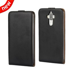 d4f5c9e2c3c Flip Genuine Leather pouch Case For Huawei Mate 9 Y5 II 2 LG K8 Google  Nexus 4 LG E960 Real Plain Clip Hard Phone Skin Cover Luxury 50pcs