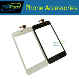 micromax touch screen 2019 - Wholesale- 1PC Lot Black White Color Touch Screen Digitizer Touch Panel For Micromax A106 Free Shipping discount microma